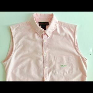 RALPH Pink blouse women's M Ralph Lauren